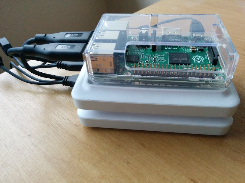 Create a hardened Raspberry Pi NAS
