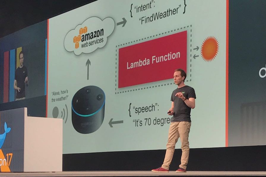 Serverless by use-case: Alexa skill for Dockercon