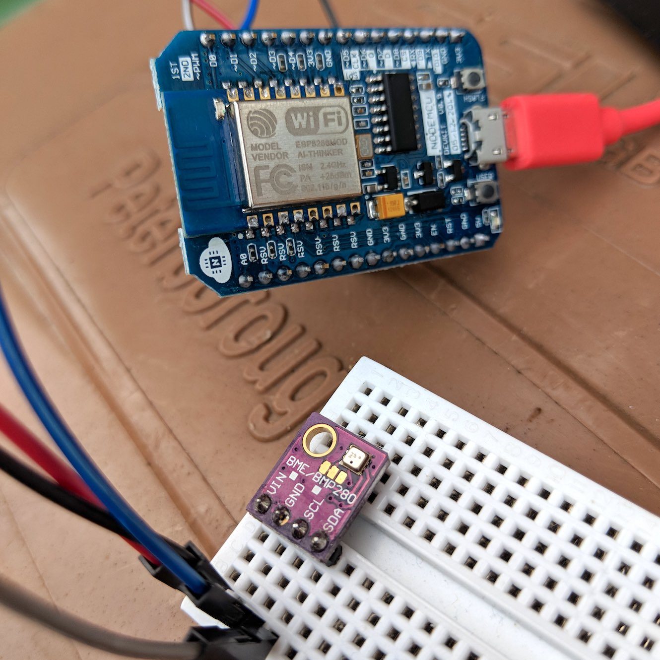 Create an IoT sensor with NodeMCU and Lua